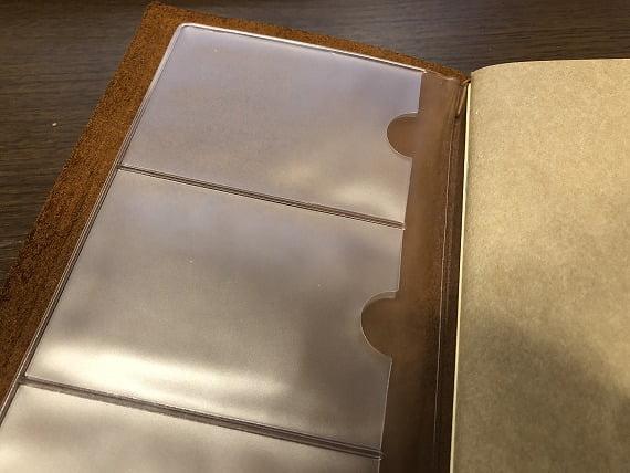 トラベラーズノートカードケース