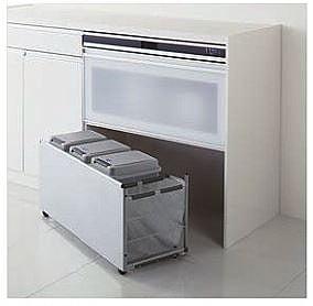 キッチンのゴミ箱収納
