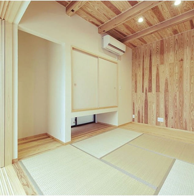 かわいいおしゃれな和室