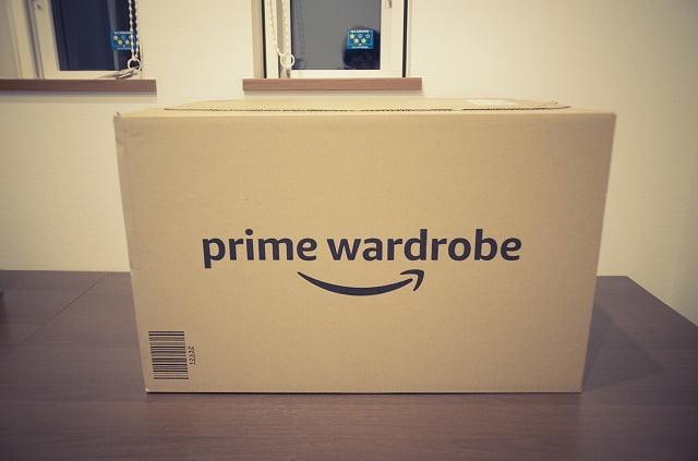 Amazonプライムワードローブ注文