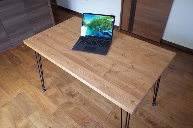 LOWYA(ロウヤ)のダイニングテーブルのサイズ感