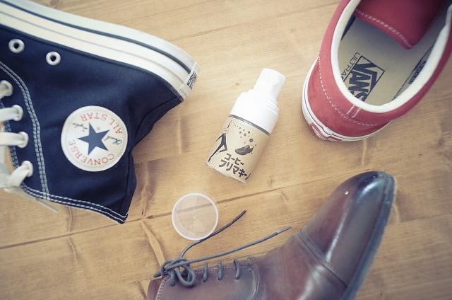 コーヒーフリマキーノで靴の匂いが消える!手軽に使える靴の消臭スプレー