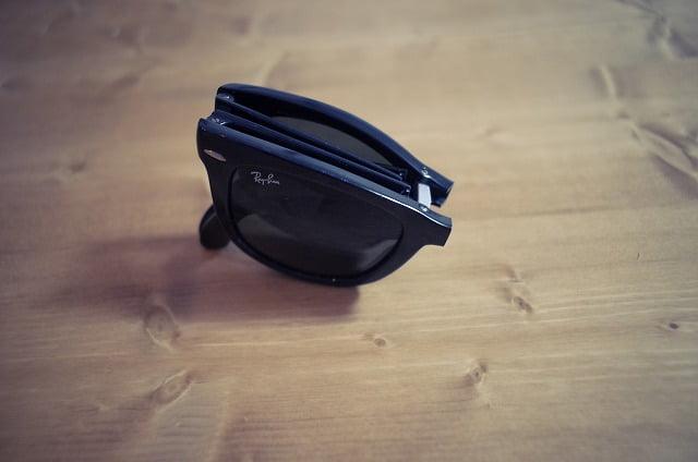 RayBanの折りたたみサングラス