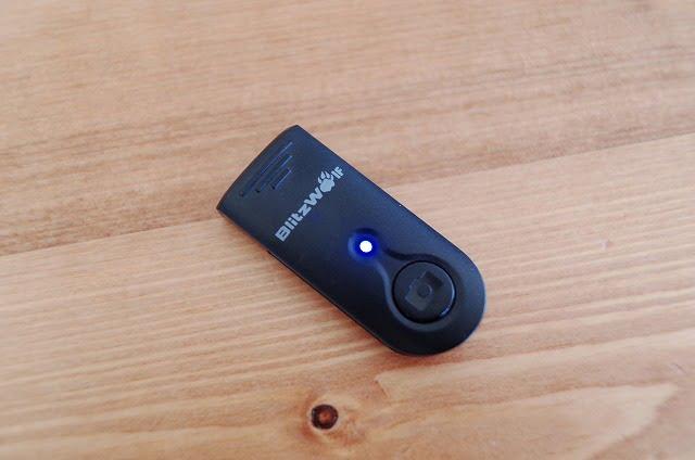 BlitzWolf自撮り棒の分離型ボタン