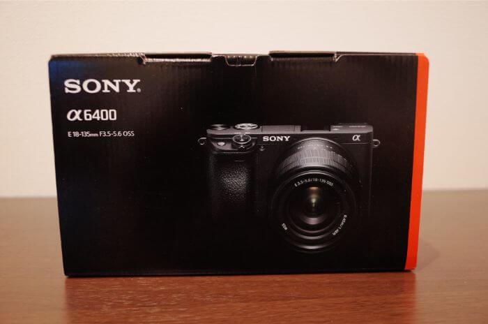 Sonya6400の箱