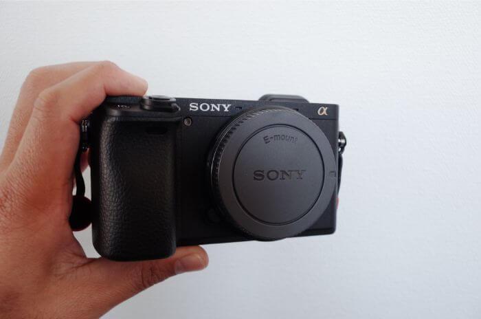 Sony a6400は超軽量