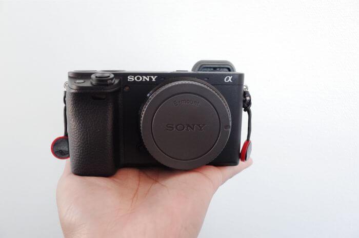 Sony a6400は軽くて使いやすい