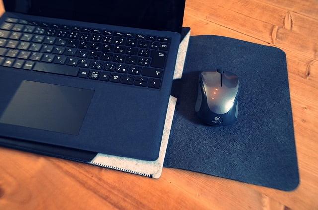 WALNEW PCケースはマウスパッドにもなる