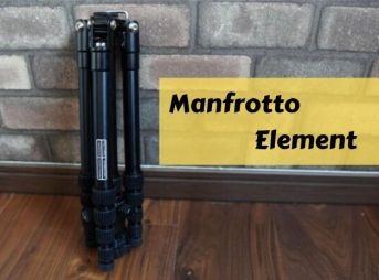 Manfrotto Elementをレビュー|わずか1.16㎏で32㎝の超コンパクトなトラベル三脚