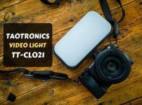 【TAOTRONICS TT-CL021レビュー】ブツ撮りや自撮り撮影に最適な小型なのに超明るいLEDライト