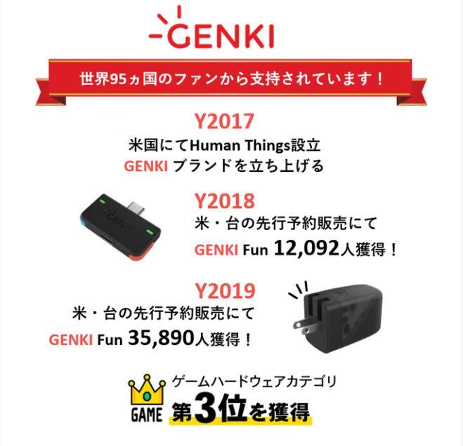 GENKI Dockについて