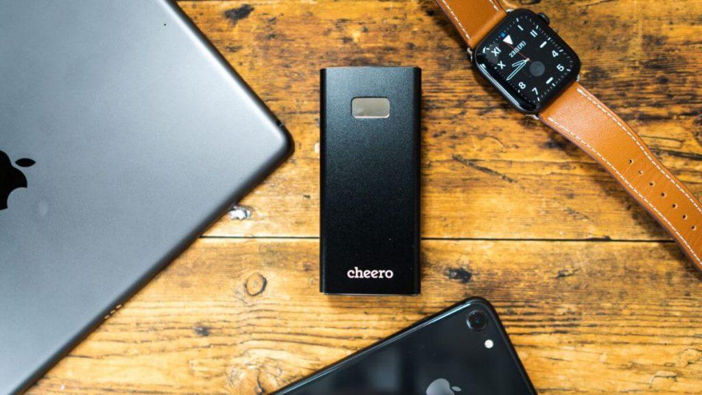 cheero Power Plus 5 レビュー!アルミ製でミニマルなモバイルバッテリー【10000mAh】
