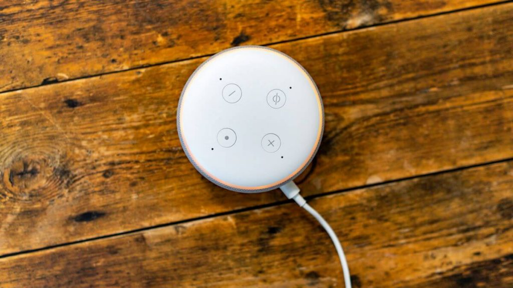 Echo Dotがオレンジに光るとセットアップモード
