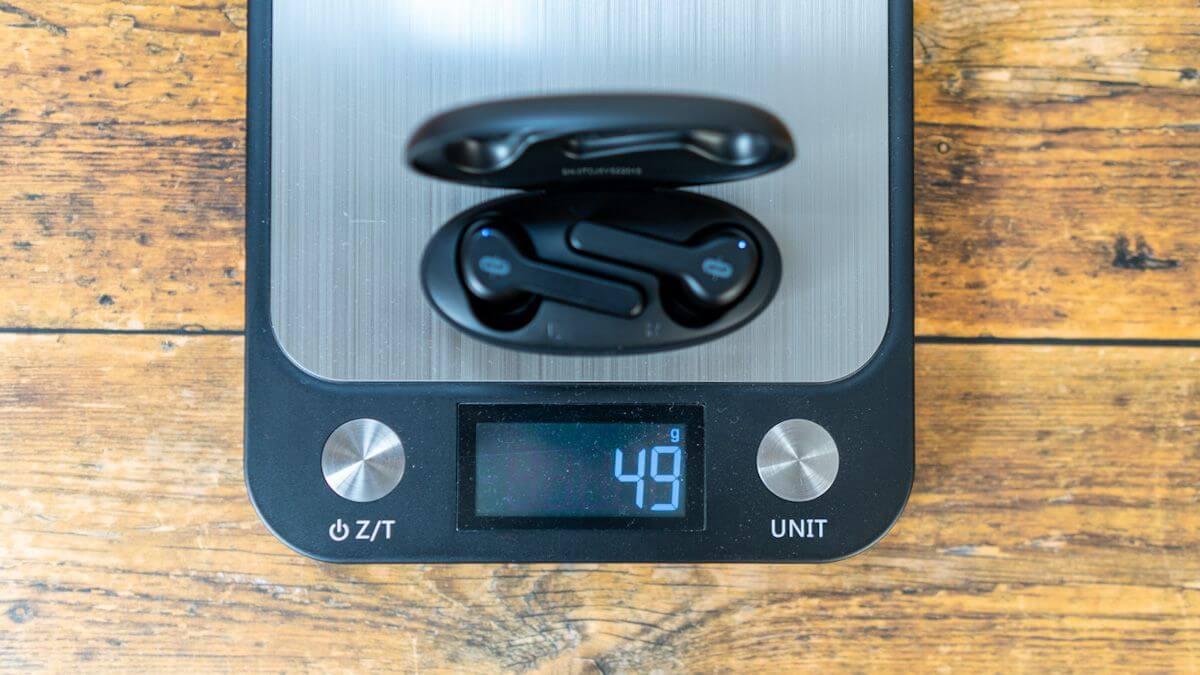 SoundLiberty53の重さは49g