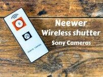 【激安】Neewerワイヤレスシャッターリモコンをレビュー 自撮りや集合写真に便利【a6400】