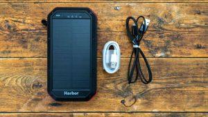 モバイルバッテリーHarborの付属品