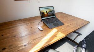 電動昇降スタンディングデスク「FlexiSpot E1E」と自作天板