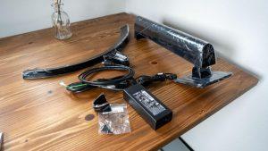 LG ウルトラワイドモニター 34WL750-Bの付属品
