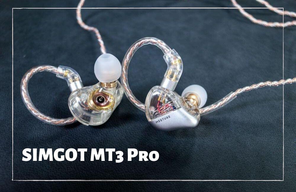 【SIMGOT MT3 Pro レビュー】低音の迫力抜群で着け心地の良い有線イヤホン