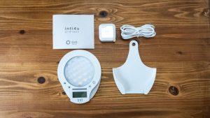 光目覚まし時計「inti4s」の付属品