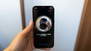 iPhoneの顔認証