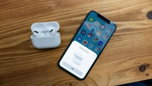 Air Pods ProとiPhone
