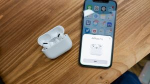 Air Pods ProとiPhoneペアリング
