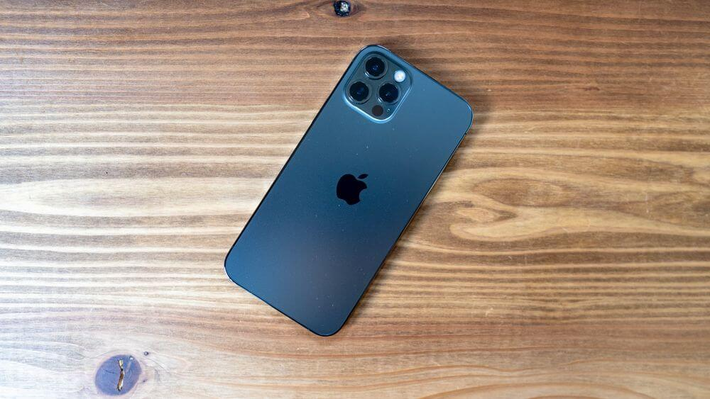 iPhone12 Proの背面