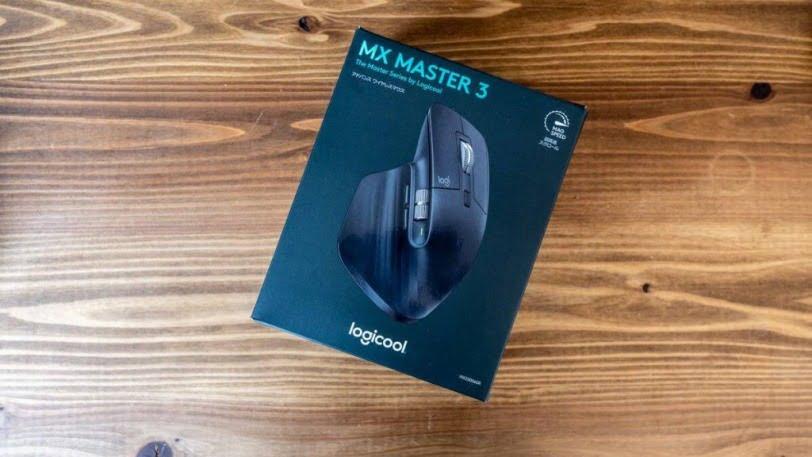Logicool MX Master 3の外箱