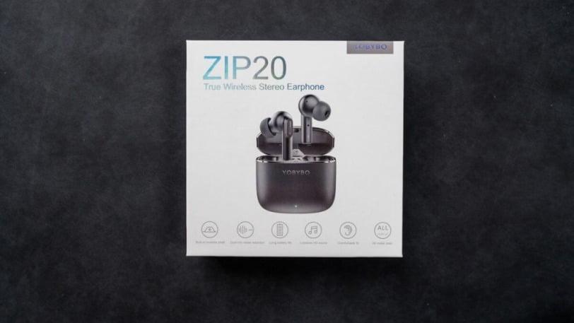 YOBYBO ZIP20の外箱
